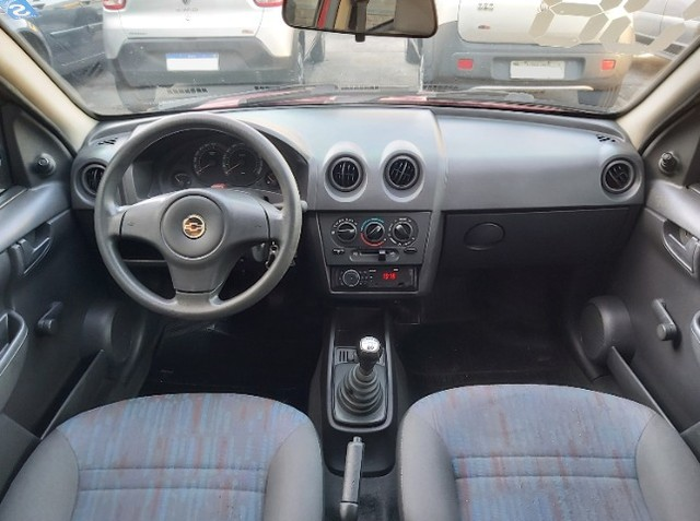 Chevrolet Celta 1.0 Life 2008 Ar Cond. + Direção + GNV  - Foto 9