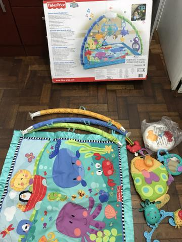 Tapete Musical Fundo do Mar Fisher Price