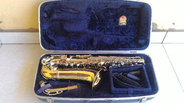 Sax Alto Mib Conn USA Shooting Star Vintage Excelente