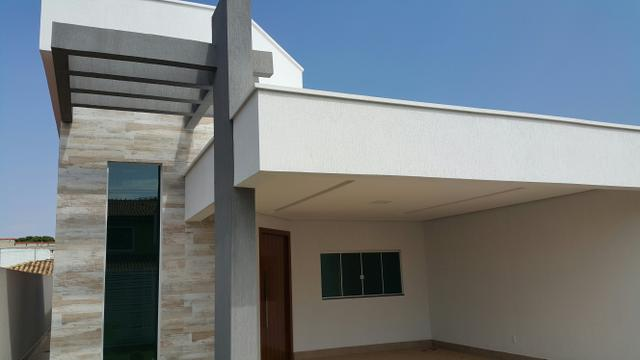 Casa nova 3quartos 3 suítes piscina churrasqueira rua 8 Vicente pires - Foto 3