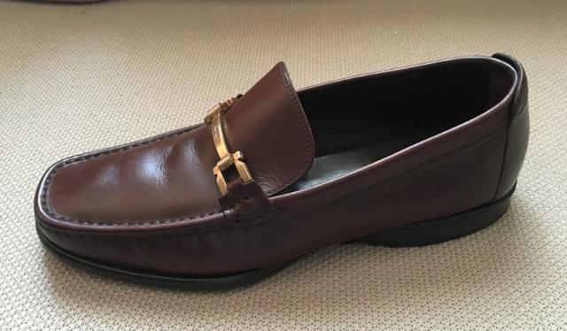 Sapato Salvatore Ferragamo Couro Marrom 42 Usado - Roupas e calçados ... 3f21851162