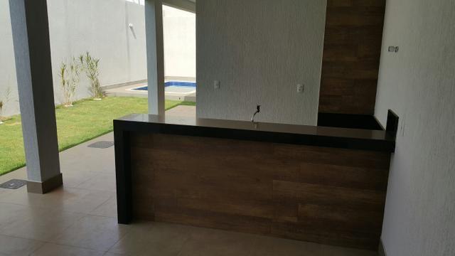 Casa nova 3quartos 3 suítes piscina churrasqueira rua 8 Vicente pires - Foto 13