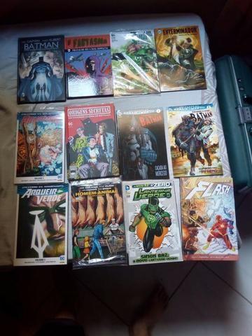 HQs DC Comics seminovas (Leia a descrição)