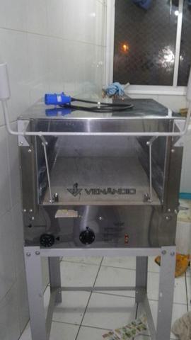Forno inox industrial elétrico