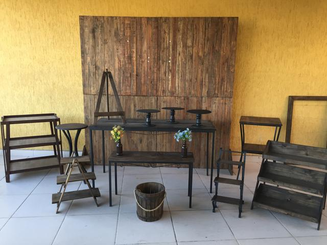 Locação de objetos e móveis para festas