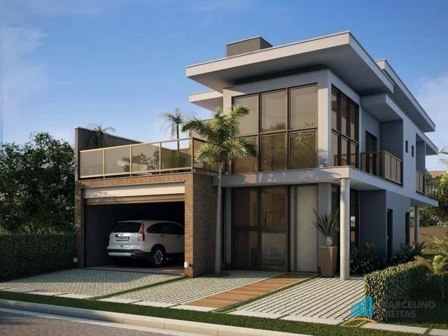 Casa residencial à venda, Centro, Eusébio - CA1882.