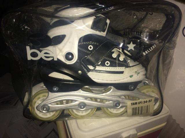 Vendo roller marca Bel Sports nunca usado - Foto 3