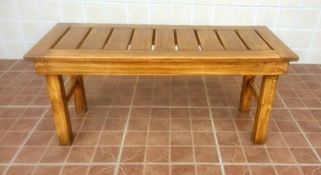 Banco de madeira maciça - Foto 3