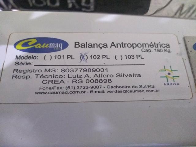 Balança Antropométrica - Foto 2
