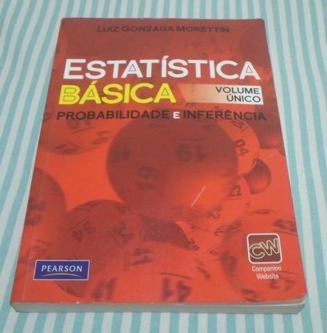Estatística Básica - Probabilidade E Inferência - Morettin - Foto 4