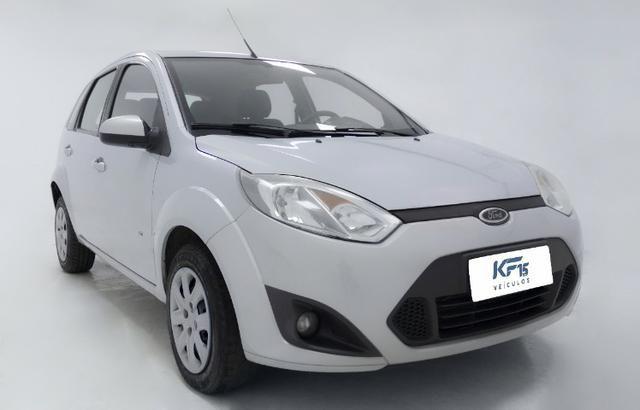Fiat Fiesta Rocam 1.0 Prata 2014 Completo