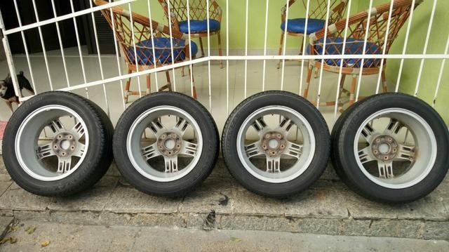 Jogo de rodas 5 furos original Honda civic Exs aro 16 - Foto 4