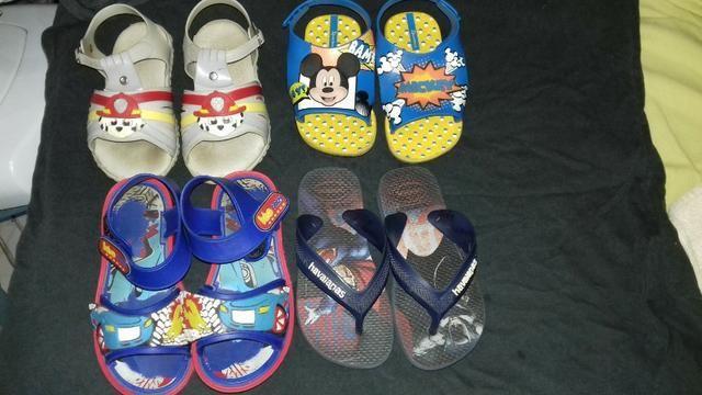 Roupas e calçados de menino - Foto 6