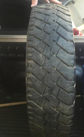Roda aro 16 c/pneu 750