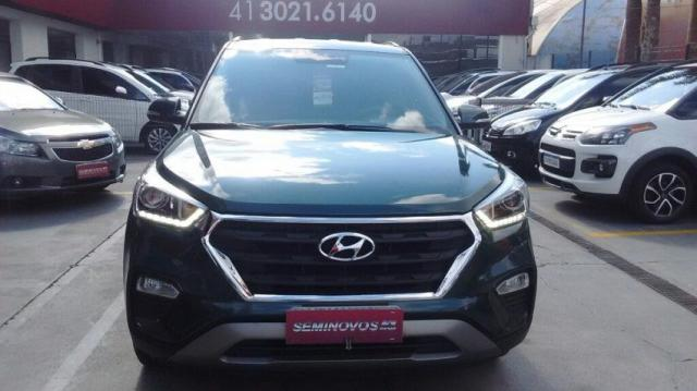 HYUNDAI IMP CRETA PULSE 2.0 16V AT6 FLEX Verde 2017/2017 - Foto 8