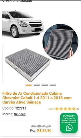 Filtro de Ar Cond + Soleiras + Adesivo Mala