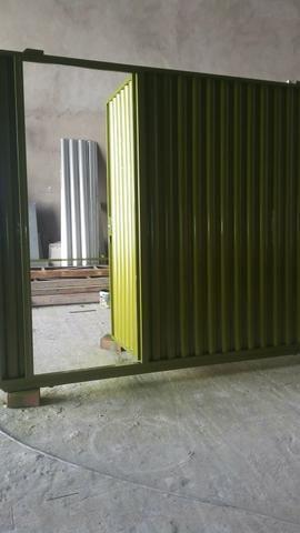 CLEO METAL METALURGICA Fabricamos portas , portões etc - Foto 4