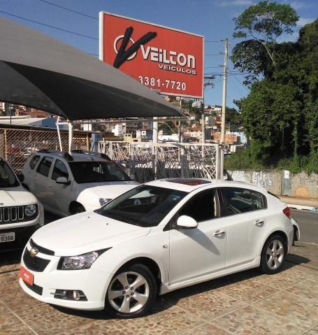 Chevrolet Cruze 2014 1.8 LTZ Sport Hatch Automatico Branco Teto