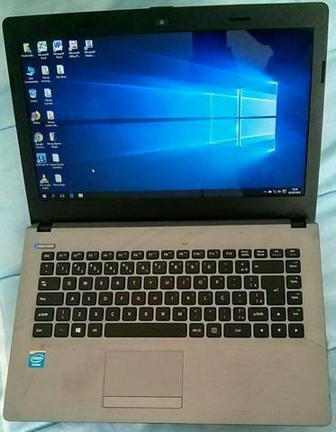 Notebook Positivo Stilo XR3005i seminovo HD 500Gb processador Intel