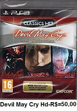 Devil may cry hd collection de playstation 3
