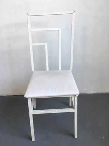 Cadeiras de ferro de buffet empilháveis