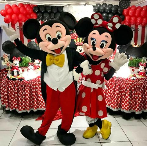 Minnie e Mickey - Festa Infantil/ Personagens Vivos
