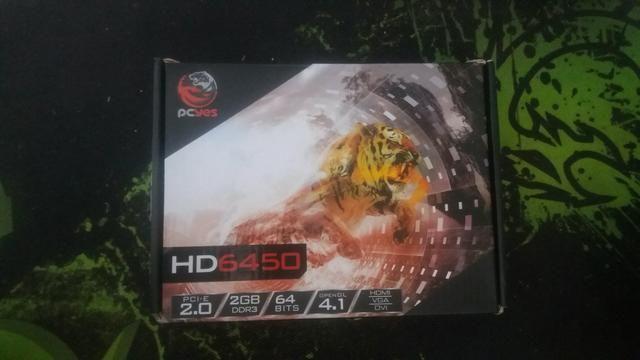 PL VIDEO HD 6450 AMD 2 GB ( Possui Nota Fiscal)