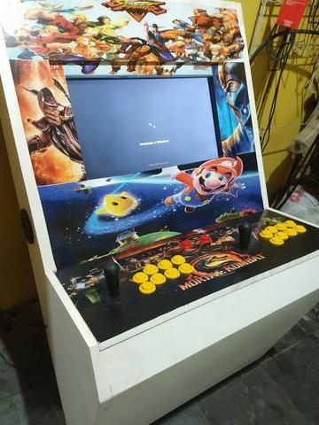 545232334 Maquina Fliperama Multijogos + de 500 Jogos - Videogames - Taquara ...