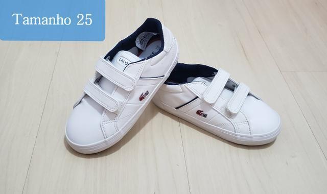 f1cfb73bab6 Tenis Lacoste infantil original - Roupas e calçados - Mauá