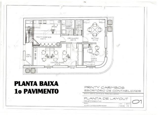 2 salas comerciais, andares inteiros em prédio na av.Dorival Caymmi, Itapuã! (82m² cada) - Foto 12
