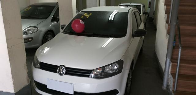 Vw -Gol City total 1.6 Ano 2014 com GNV 2019 vistoriado super novo !!!!