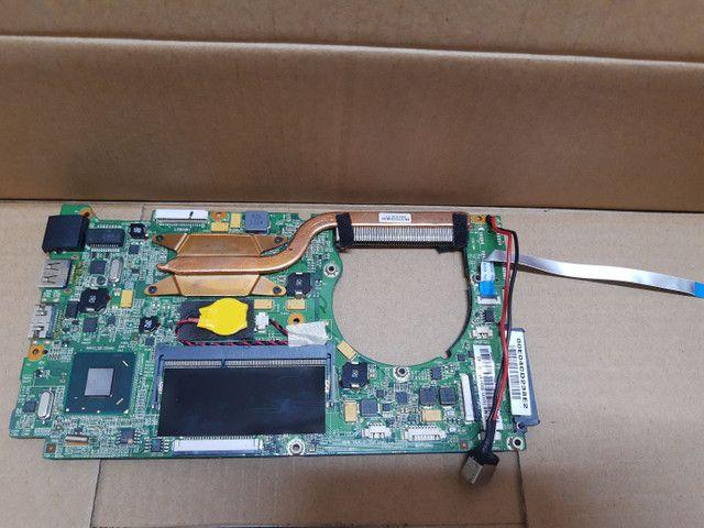 Placa mãe CCE Ultra Thin S23, placa wi-fi, placa áudio, alto falantes, cooler - Foto 3