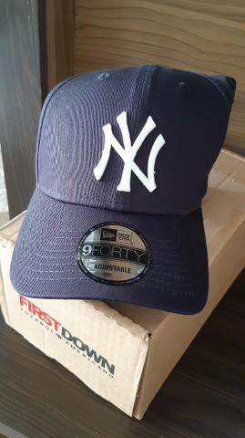 Boné New York Yankees Azul Marinho - New Era (Novo) - Foto 2