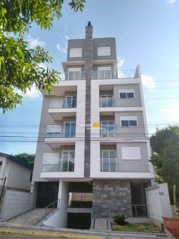 Apartamento com 2 dormitórios para alugar, 62 m² por R$ 825/mês - São Cristóvão - Lajeado/