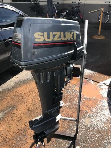 Motor Suzuki 15 hp - Foto 2