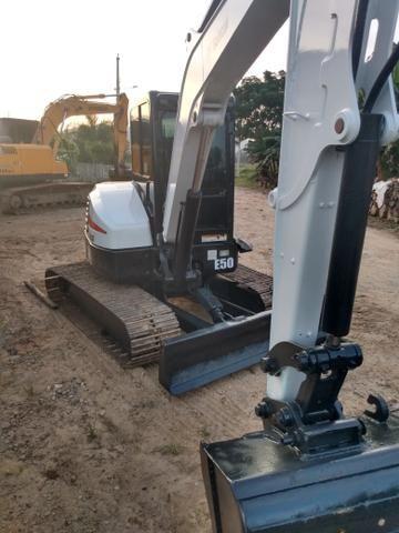 Vendo Mini escavadeira Bob cat E50 - Foto 3