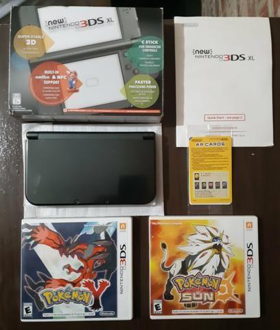 New Nintendo 3ds XL + Pokémon Sun + Pokémon Y - Foto 2