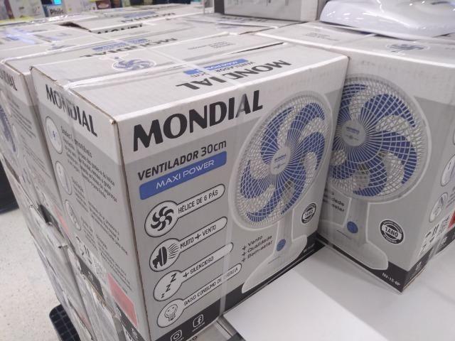 Mondial Ventilador 30cm 6 pás 110v produto novo entregamos em P.Alegre-rs