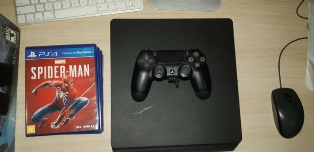 Playstation 4 500 Gb Em Ótimo Estado - Foto 3
