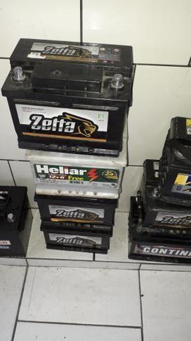 Baterias novas e recondicionadas