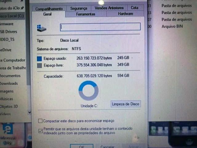 Vendo notebook Asus 6 de RAM i7 500 de HD funciona na tom - Foto 4