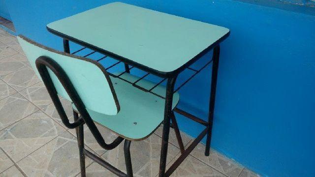 Mesas e Cadeiras Escolares Usados em Alvorada - Foto 3