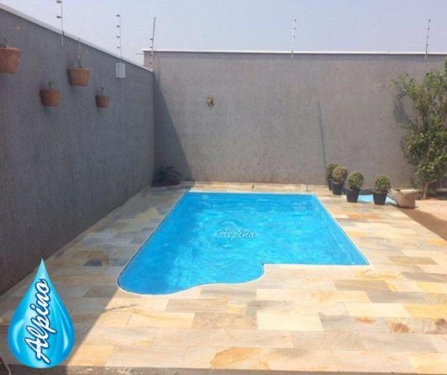 TA - Queimão de piscina de fibra Alpino - Fabricação própria MG Piscinas - Foto 3