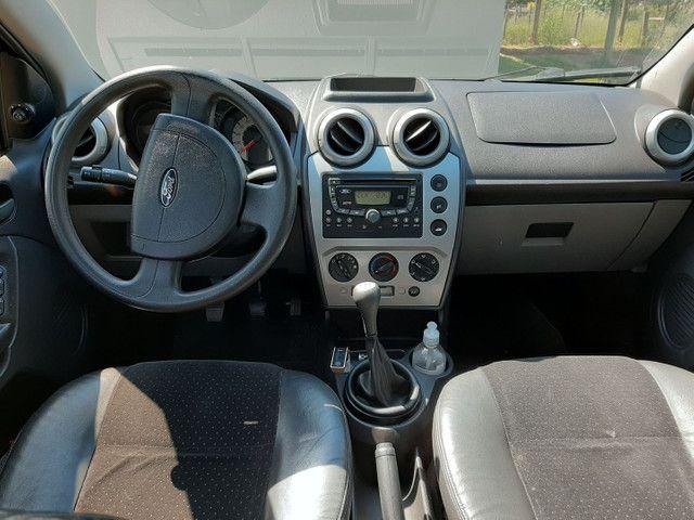 Ford Fiesta 2007/2008 completo com banco de couro - Foto 6