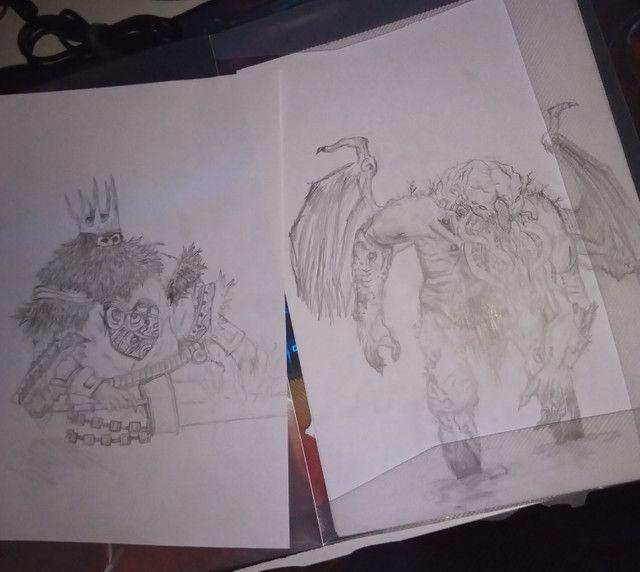 Vendo desenhos e faço desenhos - Foto 4