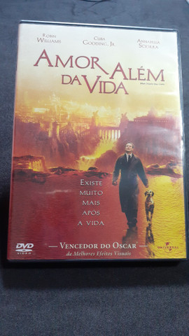 DVDs (Amor Além da Vida) Filmes e Músicas