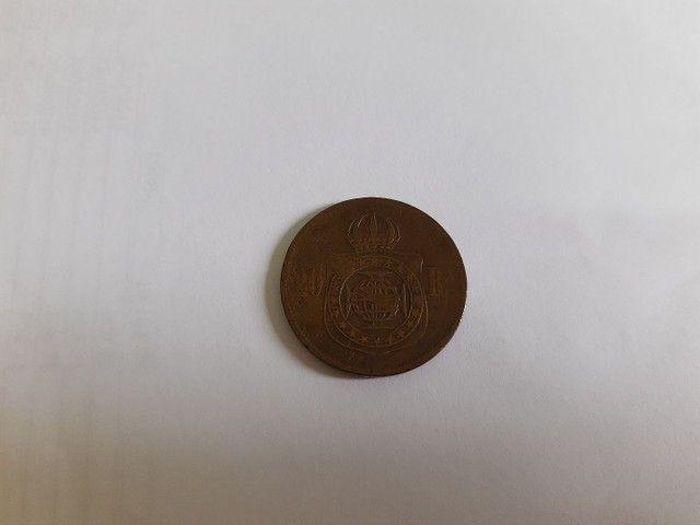 Moedas antigas de prata e bronze  - Foto 5
