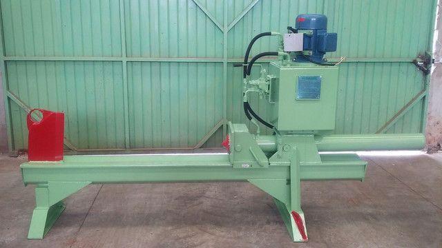 Rachador de lenha madeira tora vários modelos com motor elétrico trator tomada de força  - Foto 7