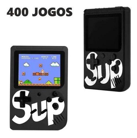 Mini Vídeo Game Portátil Boy Sup 400 Jogos Clássicos + Cabo Av<br><br> - Foto 2