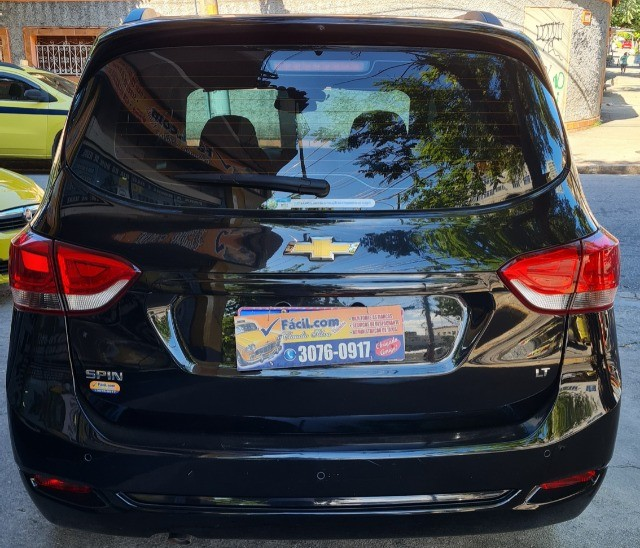 Vendo Chevrolet Spin  automático LT 2019 com Kit GNV - Foto 4